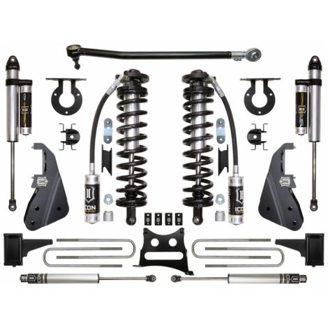 """2017-UP Ford F250/F350 4WD 4-5.5"""" Coilover Conversion System - Stage 3"""