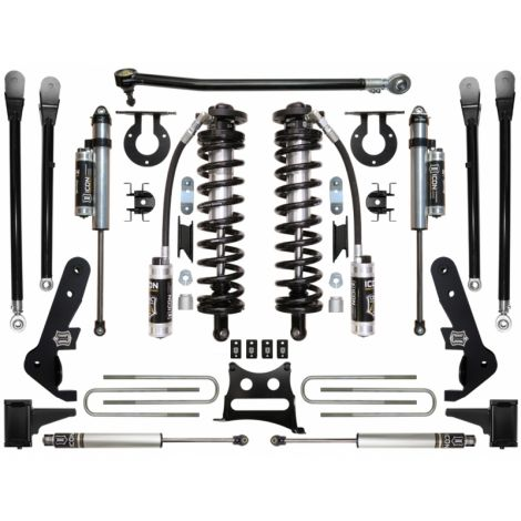 """2017-UP Ford F250/F350 4WD 4-5.5"""" Coilover Conversion System - Stage 5"""