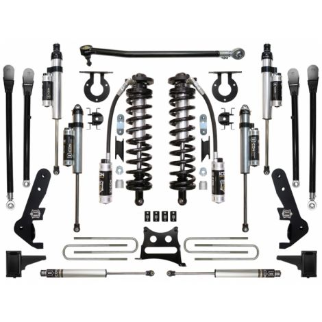 """2017-UP Ford F250/F350 4WD 4-5.5"""" Coilover Conversion System - Stage 6"""