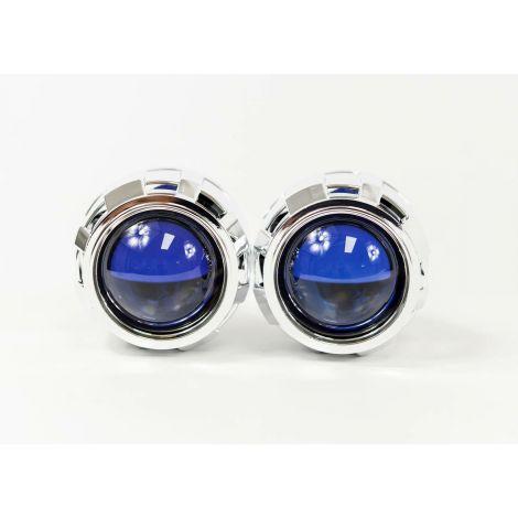 Bi-Xenon: SUPER H1 7.1 Blue Lens